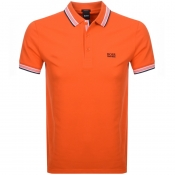 BOSS Athleisure Paddy Polo T Shirt Orange